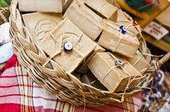 Sabões Handmade Fotografia de Stock