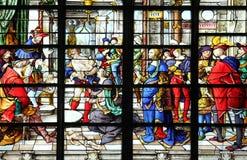 Sabiduría de Solomon: Juicio de Solomon Fotografía de archivo libre de regalías