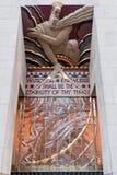 Sabiduría, luz y sonido de centro de Rockefeller Fotos de archivo libres de regalías
