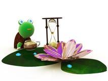 Sabiduría, tiempo, café Foto de archivo libre de regalías