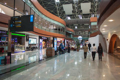Sabiha Gokcen国际机场 免版税库存图片