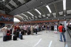 Sabiha Gokcen Flughafen, Istanbul Stockbilder