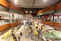 Sabiha Gokcen International Airport à Istanbul Photographie stock libre de droits