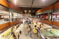 Sabiha Gokcen International Airport i Istanbul royaltyfri fotografi