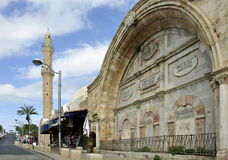 Sabil Stary Jaffa (pije fontannę) Obraz Stock