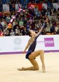 Sabina Asirbayeva, il Kazakistan Nastro Fotografie Stock