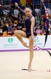 Sabina Asirbayeva, Kazachstan Lint Royalty-vrije Stock Fotografie