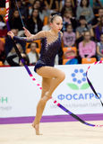 Sabina Asirbayeva, Kazachstan Lint Royalty-vrije Stock Afbeelding