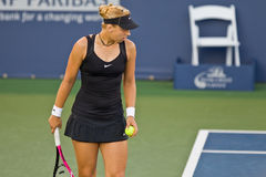 Sabine Lisicki, GER, plays in semifinal game Royalty Free Stock Images