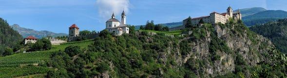 Sabiona Monastery, Chiusa, Klausen, Valle Isarco, Bolzano. Italy Stock Photography