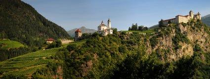 Sabiona Monastery, Chiusa, Klausen, Valle Isarco, Bolzano, Trentino Alto Adige Stock Photo