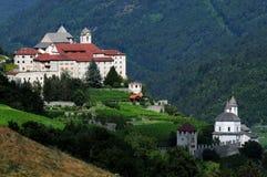 Sabiona Monastery, Chiusa, Klausen, Valle Isarco, Bolzano, Trentino Alto Adige Royalty Free Stock Image