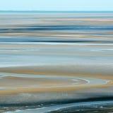 Sable à marée basse Photo libre de droits