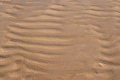 Sable à une plage Image stock