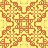 Sable abstrait et fond géométrique brun Photo stock