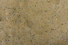 Sable avec de petites pierres Photos stock