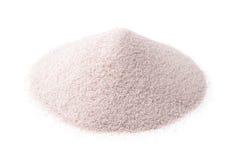 Sable blanc de silice photo stock