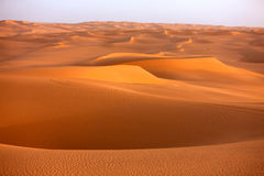 sable de la Libye de 2 dunes d'awbari Image libre de droits