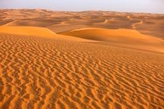 sable de la Libye de 3 dunes d'awbari Photographie stock