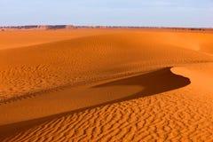 sable de la Libye de 4 dunes d'awbari Photographie stock libre de droits