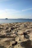 Sable de mer Sun Photographie stock libre de droits