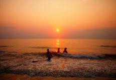 Sable de mer Sun Photographie stock