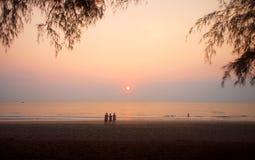 Sable de mer Sun Photos stock