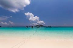 sable de plage tropical Photographie stock