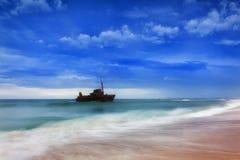 Sable de Sygna 2 Newcastle de mer Image stock