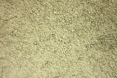 Sable et ciment secs photo stock