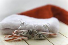 Sable et Noël de mer Photos libres de droits