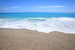 Sable et plage Image libre de droits