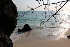 Sable et plage Images stock