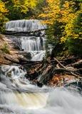 Sable Falls Cascades Stock Photography