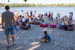 Sable Fest Photos libres de droits