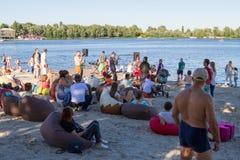 Sable Fest Photo libre de droits