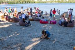 Sable Fest Image libre de droits