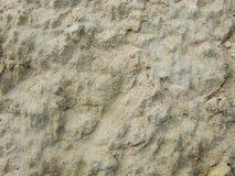 Sable humide sur la banque de la rivière Sol argileux après pluie La planète Mars Photos stock