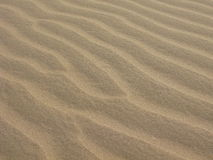 Sable intact sur les dunes de sable de Glamis photographie stock