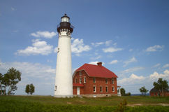Sable Point Lighthouse Royalty Free Stock Image