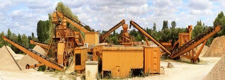 Sable-puits Photographie stock libre de droits