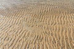Sable sur la plage Photo stock