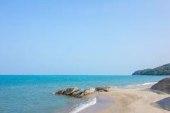 Sable sur la plage Photographie stock libre de droits