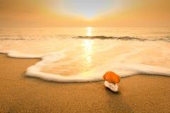 Sable sur la plage Image libre de droits