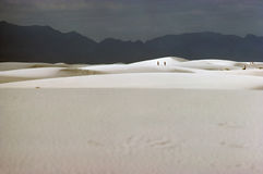 Sables blancs Photographie stock