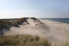 Sables blancs, Danemark Images stock
