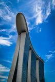 Sables de baie de marina Photographie stock