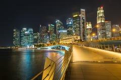 SABLES de BAIE de MARINA, SINGAPOUR - 23 mai 2017 : Singapour coloré C Image libre de droits