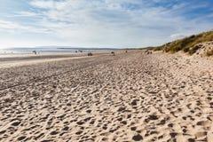 Sables de cambrure, East Sussex près de Rye, Angleterre photos libres de droits