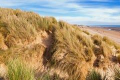 Sables de cambrure, East Sussex près de Rye, Angleterre photographie stock libre de droits